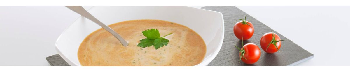 High protein & high carbohydrates soups